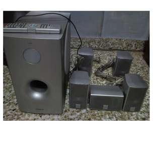 Hitachi 5.1 Home Theater Sound System
