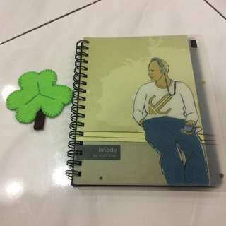 A'Zone Small Notebook, Ruled