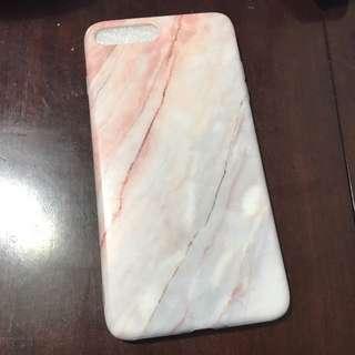 全包邊 iPhone 7 plus 雲石款 手機軟殻 手機保護套