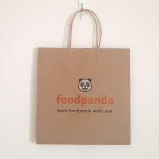 BN Limited Edition Food Panda Paper Bags