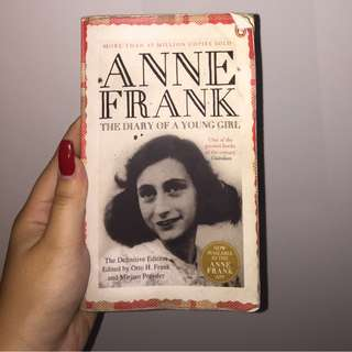 THE DIARY OF A YOUNG GIRL ;by Anne Frank