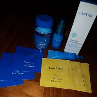 Laneige Trial Kit (with freebies)