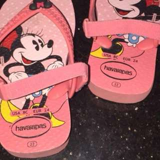 Havaianas Minnie Mouse