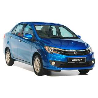Perodua Bezza Full loan,No license,Free gifts