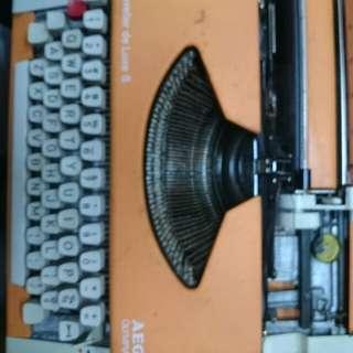 🚚 打字機