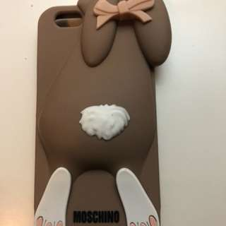 Moschino iPhone soft case