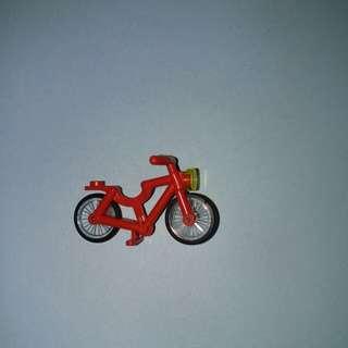 Lego  紅色單車