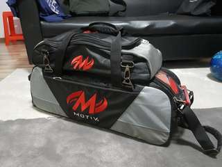 Motiv 3 Ball Tote with Roller and Shoe Bag
