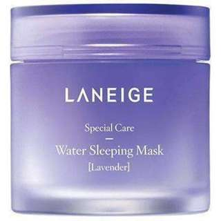 LANEIGE WATER SLEEPING MASK LAVENDER TRAVEL SIZE 15ml