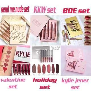 (SALE) ‼️ Kylie Lip Cream Set