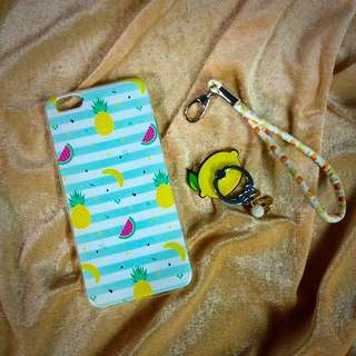 ON HAND PHONE CASE W/ ACCESORIES