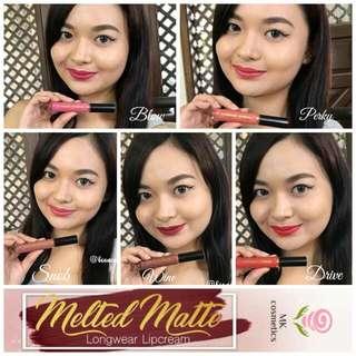 Melted Matte Lip Cream