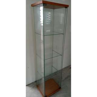 Glass Display Cabinet ($80 Self Collect Woodlands)