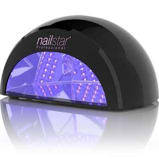 NailStar Professional LED Nail Dryer Nail Lamp, Model: NS-02B/UK