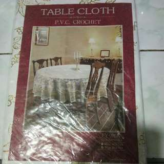 Table Cloth (round table)