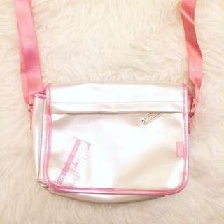 Elle 女童斜咩袋 側咩袋 小手袋 kids girls cross body bag handbag pink white