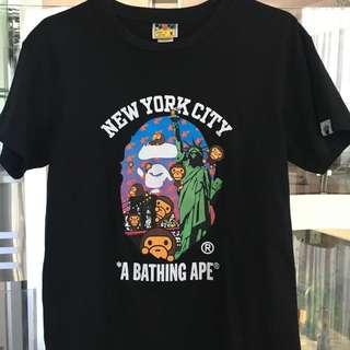 BAPE NYC 10 Year Anniversary Tee