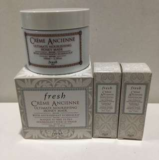 Fresh Creme Ancienne Honey Mask 100ml