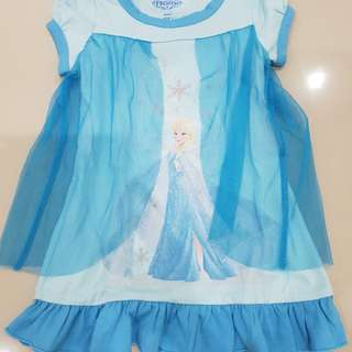 Dress kaos frozen disney sz 1