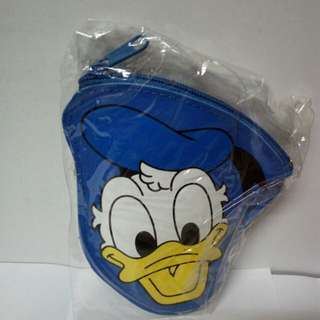 Donald duck 拉鏈細袋仔