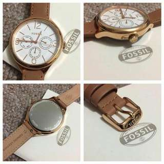 FOSSIL Multi-function Rose Gold Tone