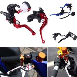Brake and clutch lever