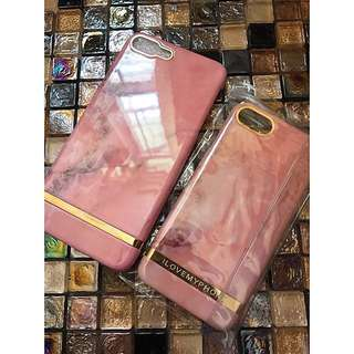 iphone7 & plus i love my phone design pink mable case 256gb joyce lane crawford charles & keith ted baker bag 外國設計粉紅雲石硬殼手機套 保護殻