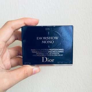 DIORSHOW MONO: CODE 026