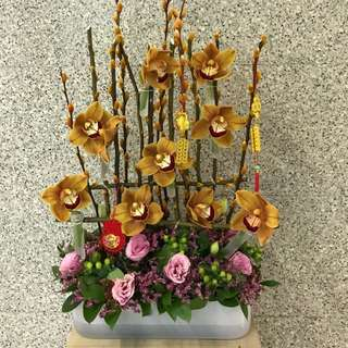 Weekly corporate flower supply