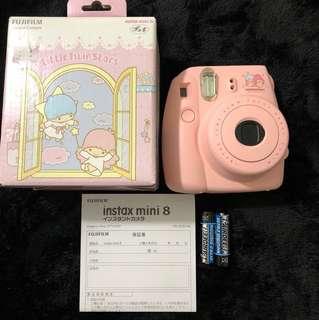 Little Twin Stars X Fujifilm Instant Camera instax mini 8