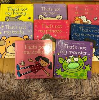 Usborne touchy feely Children Books