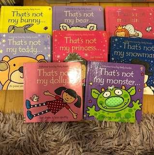 Usborne touchy feely Children Books