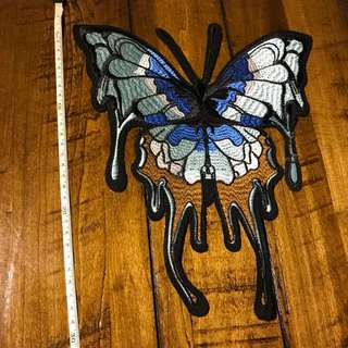 Butterfly Sew On / Iron On Patch