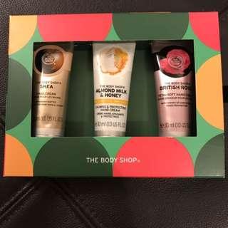 Body Shop Gift Set - Set of 3 hand cream