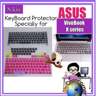ASUS VivoBook X Series laptop Keyboard Protector silicone Skin TPU Cover X207 X405 X45 X510 X550 X456 X556 X410 S406 S510 X205