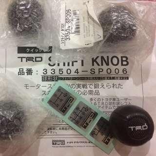 original Trd gear knob
