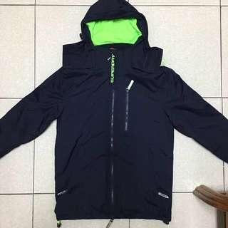 🚚 Superdry hooded polar windhiker 極度乾燥 刷毛款 s號 全新