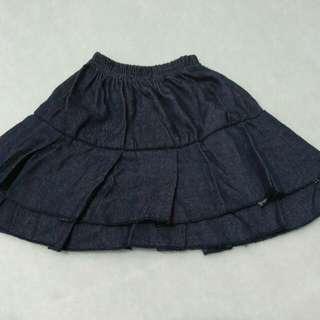 1-2 years denim skirt