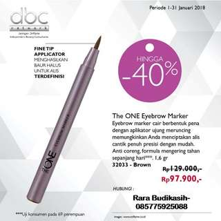 The one eyebrow marker (no barter)