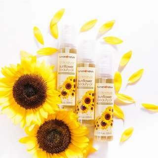 Sunflower Beauty Oil 50ml or 100ml