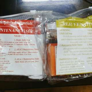 Amberphils Silver Rejuvenating Set + Maintenance Set