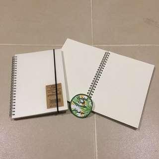 Muji Style Dotted Notebook