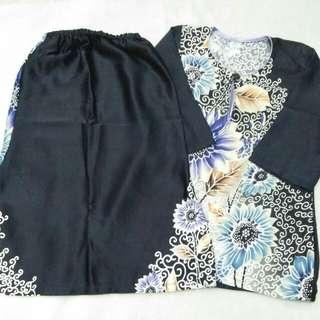 1-2 tahun baju kurung batik