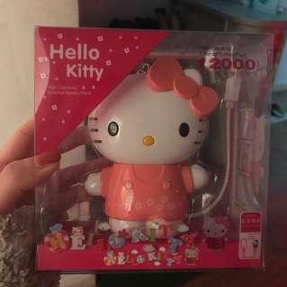 Hello kitty 充電器 尿袋 叉電 12000容量