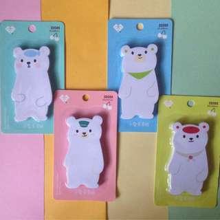 Polar Bear Sticky Note
