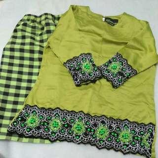 2-3 years baju kurung