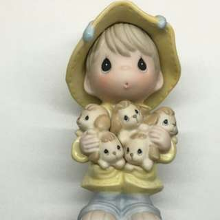 Precious Moments Figurine you are my shelter during the storm