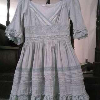 Medieval-victorian dress