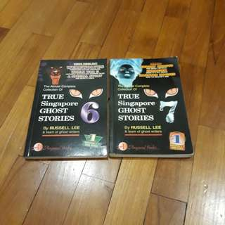 True Singapore Ghost Stories books