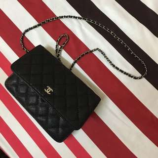 Aunthentic Chanel Wallet on Chain